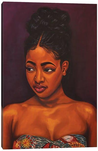 Black Pride II Canvas Art Print