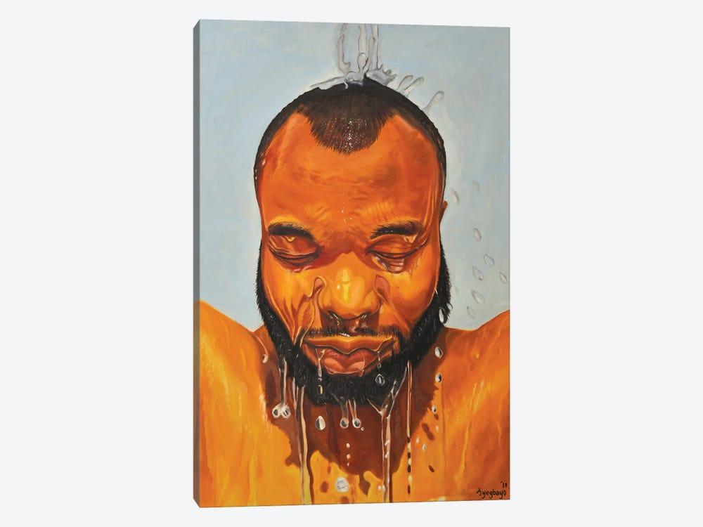 Self Portrait by Damola Ayegbayo 1-piece Canvas Wall Art