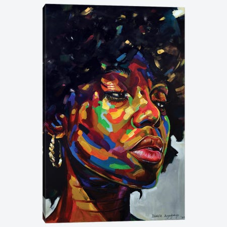 Free But Hungry III Canvas Print #DML31} by Damola Ayegbayo Canvas Print