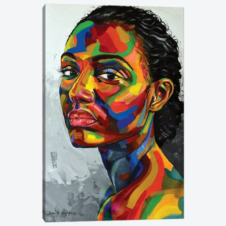 Purpose Of Existence Canvas Print #DML33} by Damola Ayegbayo Canvas Art Print