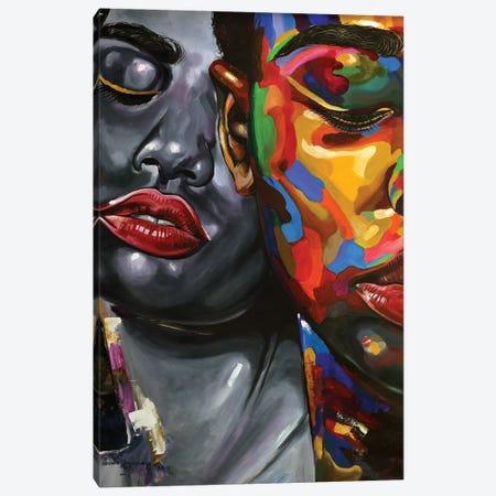 Strength In Diversity II Canvas Print #DML37} by Damola Ayegbayo Canvas Art