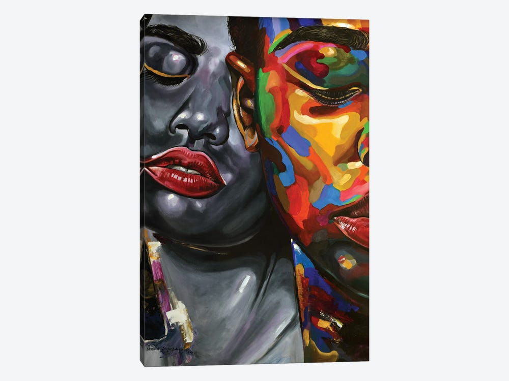 Strength In Diversity II by Damola Ayegbayo 1-piece Canvas Wall Art