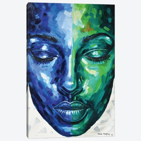 The Other Side II Canvas Print #DML47} by Damola Ayegbayo Canvas Print