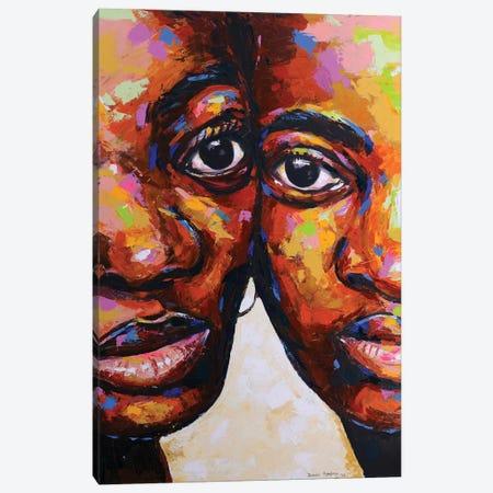 Unconditional Love Canvas Print #DML48} by Damola Ayegbayo Canvas Art