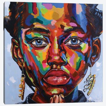 Vision Of Hope II Canvas Print #DML49} by Damola Ayegbayo Canvas Wall Art