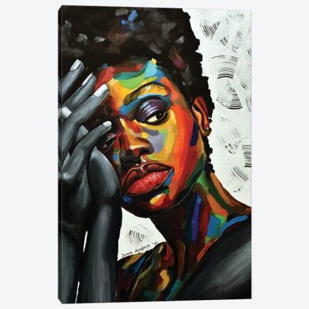 Free But Hungry II Canvas Print #DML4} by Damola Ayegbayo Canvas Art