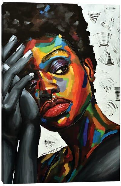 Free But Hungry II Canvas Art Print