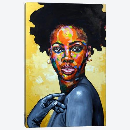 Eniyan (Human) II Canvas Print #DML53} by Damola Ayegbayo Canvas Art Print