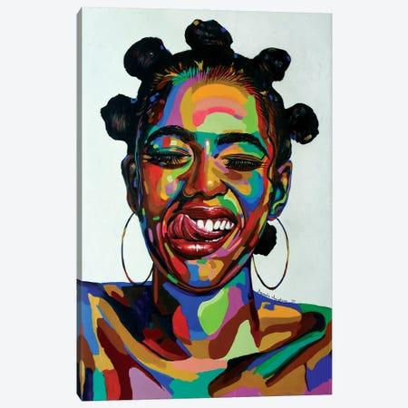 Life Force Canvas Print #DML54} by Damola Ayegbayo Canvas Art