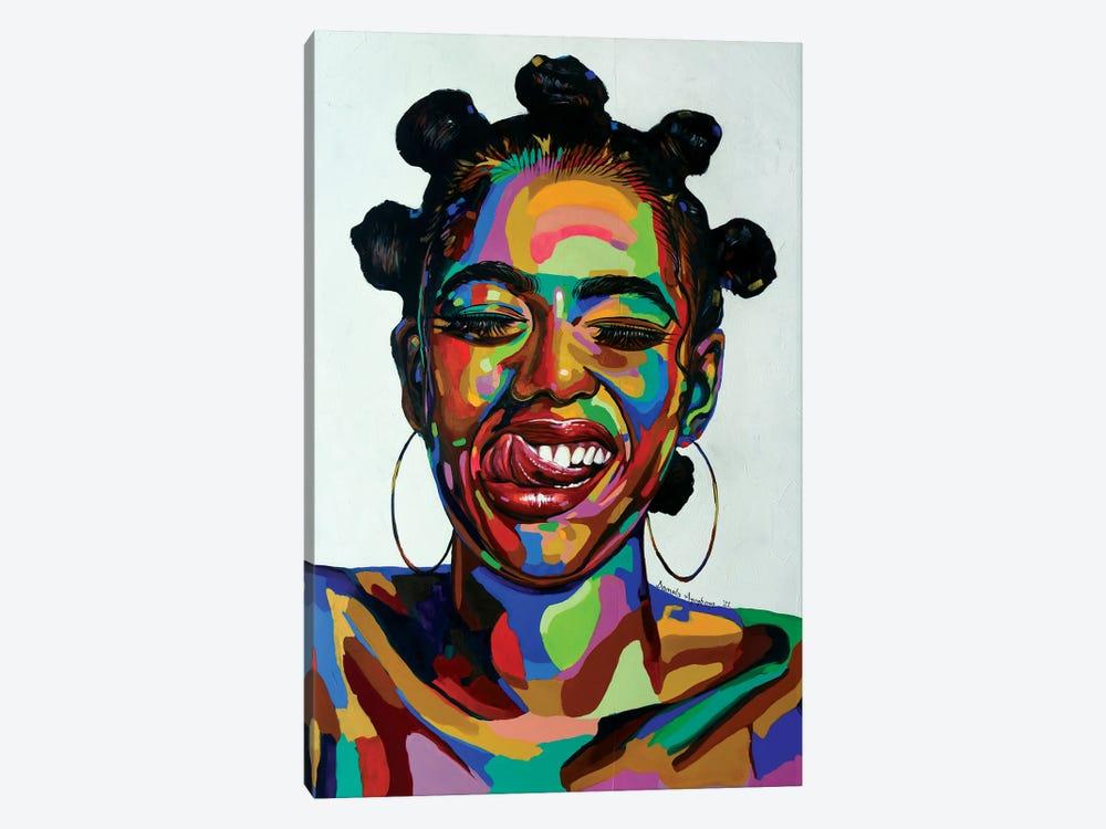 Life Force by Damola Ayegbayo 1-piece Canvas Print