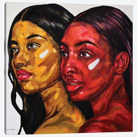 Strength In Diversity III Canvas Print #DML56} by Damola Ayegbayo Canvas Wall Art