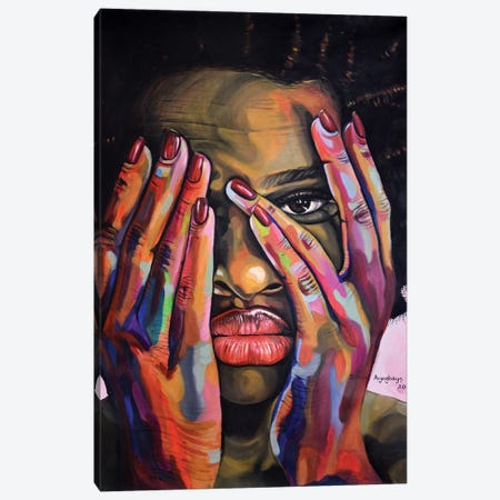My Peregrinations Canvas Print #DML5} by Damola Ayegbayo Canvas Wall Art