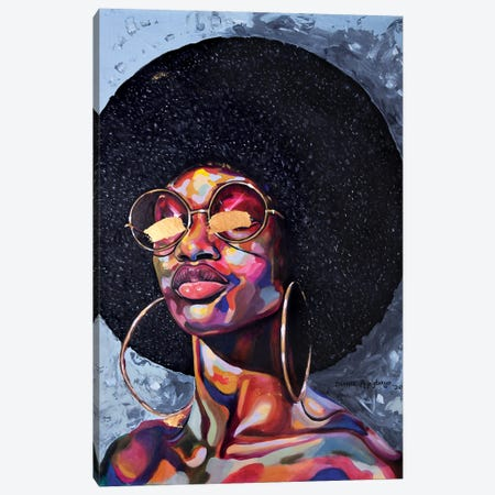 The Golden Age Canvas Print #DML6} by Damola Ayegbayo Canvas Art