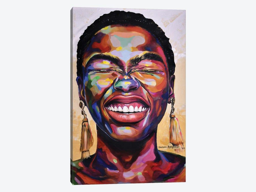 Celebrate Life II by Damola Ayegbayo 1-piece Art Print