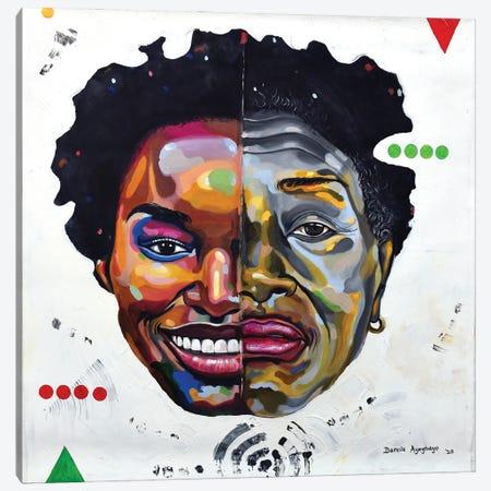 What Goes Around Canvas Print #DML8} by Damola Ayegbayo Canvas Print