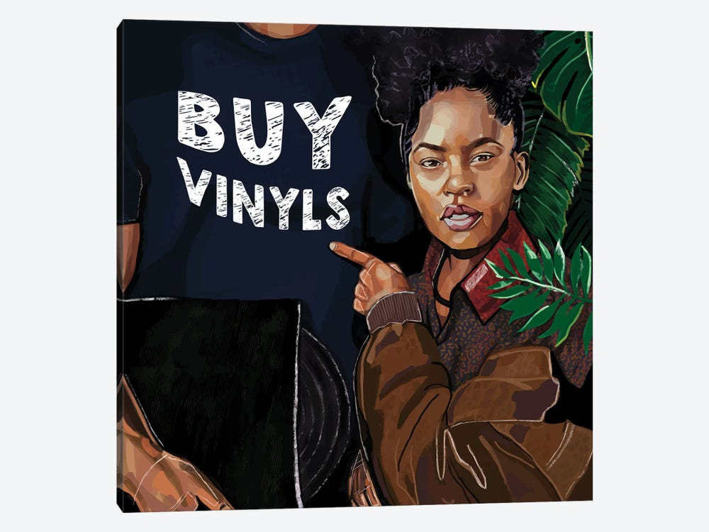 Buy Vinyls by Domonique Brown 1-piece Art Print