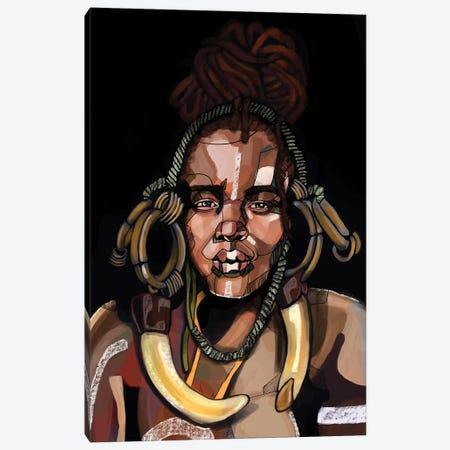 Africa '92 Canvas Print #DMQ107} by Domonique Brown Canvas Art