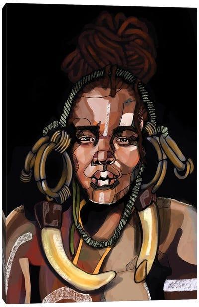 Africa '92 Canvas Art Print
