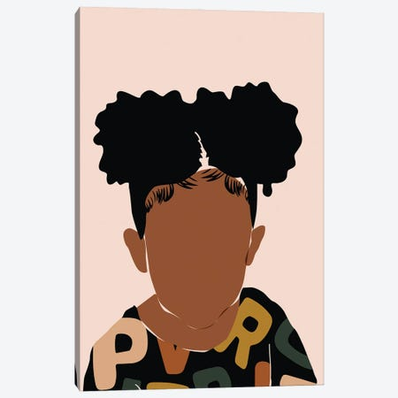 Two Puffs Canvas Print #DMQ111} by Domonique Brown Canvas Artwork