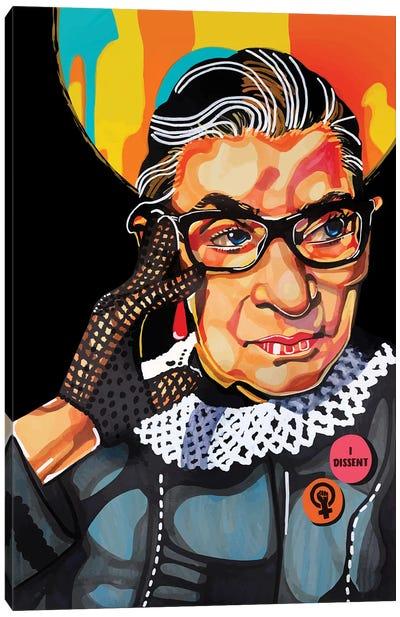 Ruth Bader Ginsburg Canvas Art Print