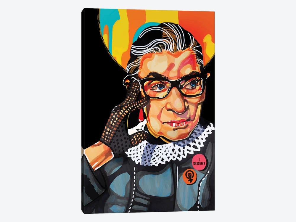 Ruth Bader Ginsburg by Domonique Brown 1-piece Canvas Art