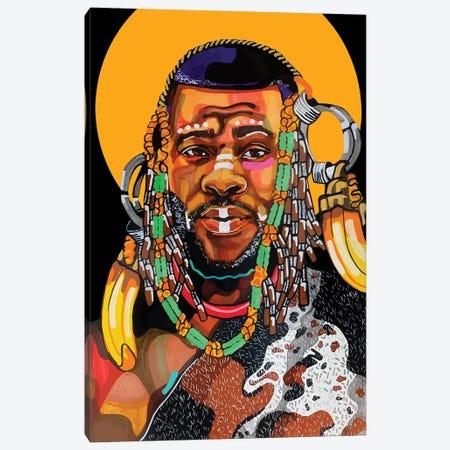 King Is Black Canvas Print #DMQ128} by Domonique Brown Canvas Print