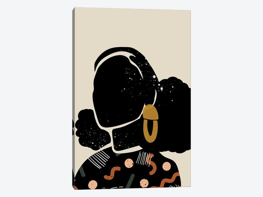 Black Hair IV by Domonique Brown 1-piece Art Print