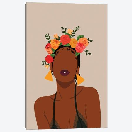 Crown Canvas Print #DMQ131} by Domonique Brown Canvas Artwork