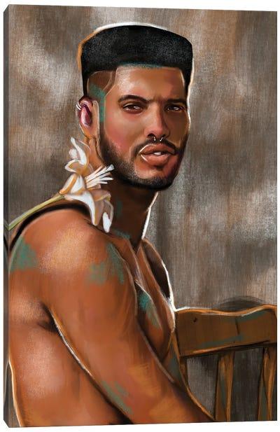 No Fragile Masculinity Canvas Art Print