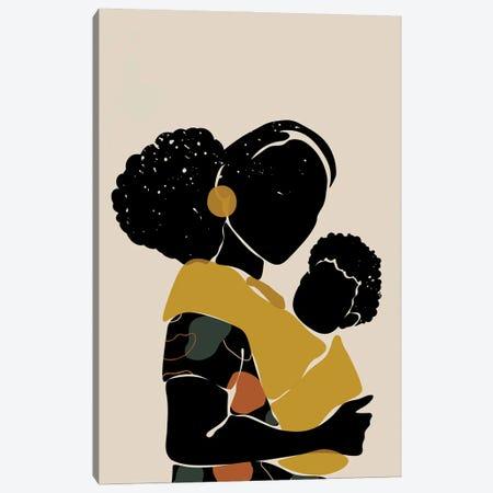 Black Hair No. 15 Canvas Print #DMQ135} by Domonique Brown Canvas Print
