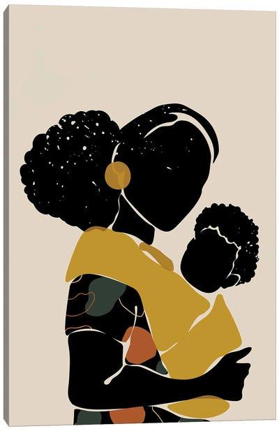 Black Hair No. 15 Canvas Art Print