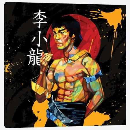 Karate Kid Canvas Print #DMQ138} by Domonique Brown Canvas Artwork