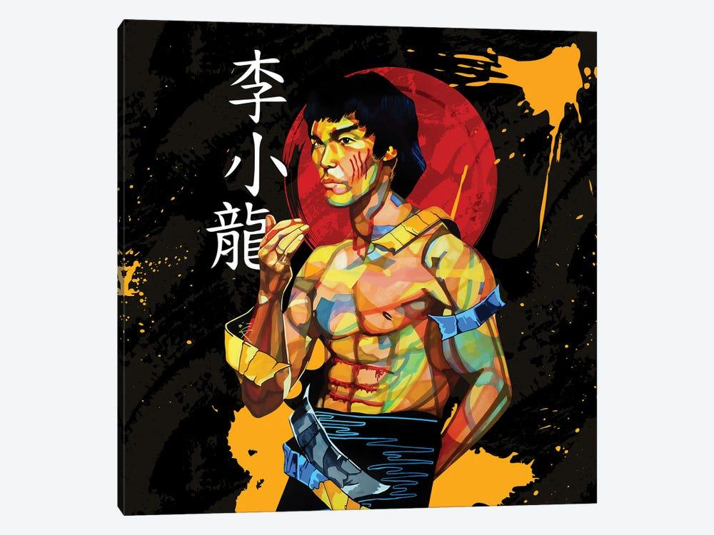 Karate Kid by Domonique Brown 1-piece Canvas Artwork