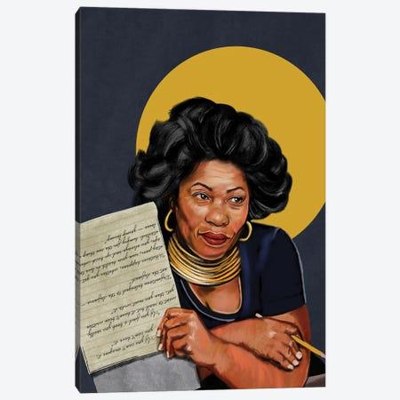 Toni Morrison Canvas Print #DMQ141} by Domonique Brown Canvas Print