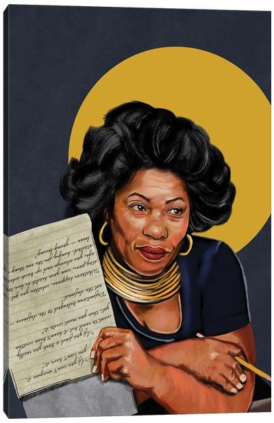 Toni Morrison Canvas Art Print