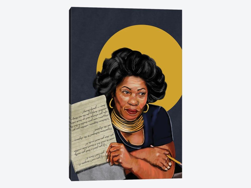 Toni Morrison by Domonique Brown 1-piece Canvas Wall Art