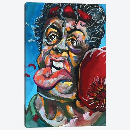 Rocky Canvas Print #DMQ142} by Domonique Brown Art Print