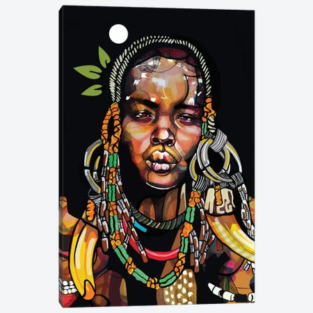 Africa '93 Canvas Print #DMQ148} by Domonique Brown Art Print