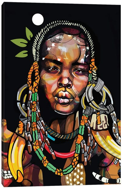Africa '93 Canvas Art Print