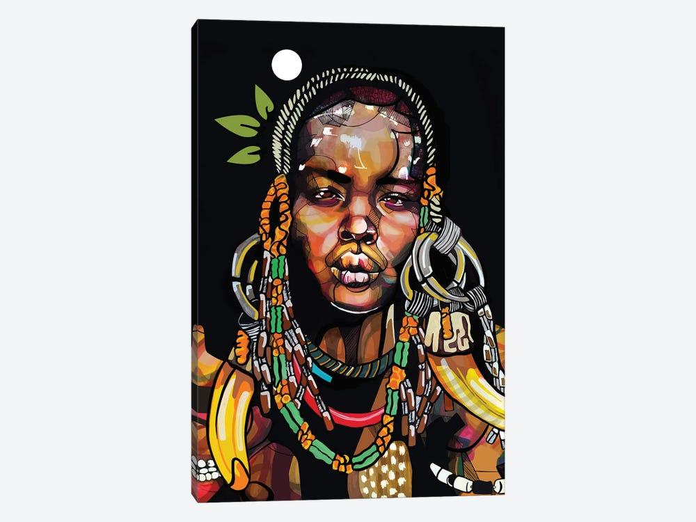 Africa '93 by Domonique Brown 1-piece Canvas Print