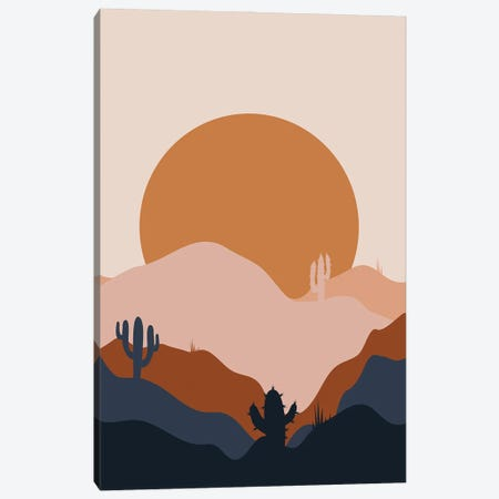 Desert Flow Canvas Print #DMQ150} by Domonique Brown Canvas Wall Art