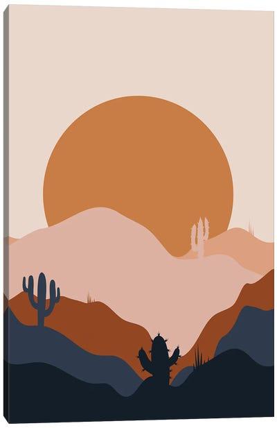 Desert Flow Canvas Art Print