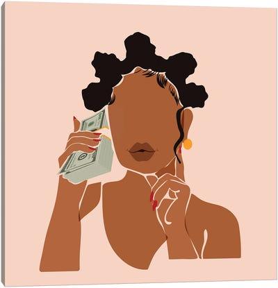 Mo' Money, No Problems Canvas Art Print