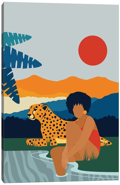 Jungle Boogie Canvas Art Print
