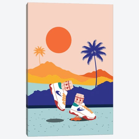 California Bounce Canvas Print #DMQ159} by Domonique Brown Canvas Wall Art