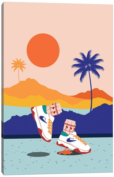 California Bounce Canvas Art Print