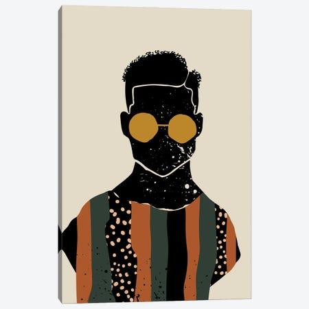 Black Hair VII Canvas Print #DMQ15} by Domonique Brown Canvas Print