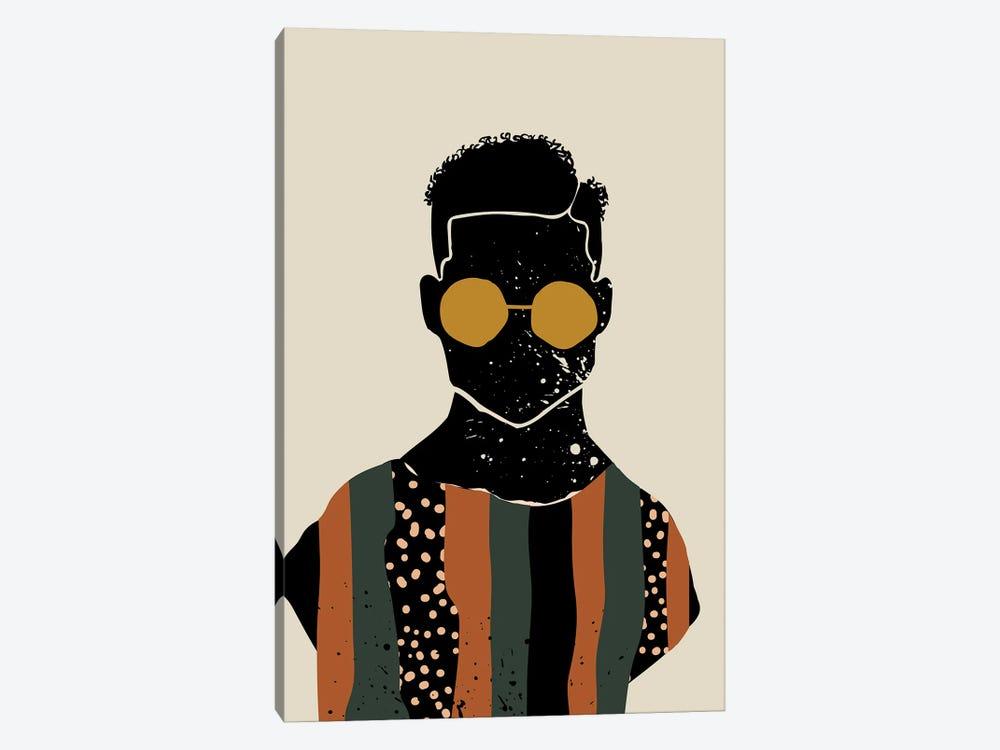 Black Hair VII by Domonique Brown 1-piece Canvas Art