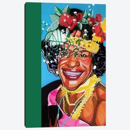 Marsha P. Johnson Canvas Print #DMQ163} by Domonique Brown Canvas Print