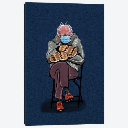 Bernie Sanders Canvas Print #DMQ165} by Domonique Brown Canvas Artwork